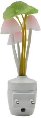 Kumar Retail Mushroom Sensor LED Color Changing Wall Light 1 Night Lamp(13.5 cm, Multicolor)  available at flipkart for Rs.192