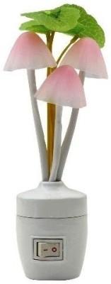 Kumar Retail Mushroom Sensor LED Color Changing Wall Light 2 Night Lamp(13.5 cm, Multicolor)  available at flipkart for Rs.176