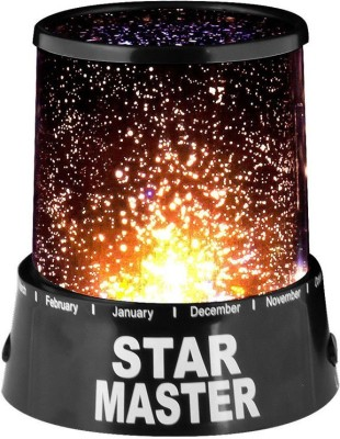Shadowfax Super Star Master Light Projector Night Lamp(13 cm, Black) at flipkart