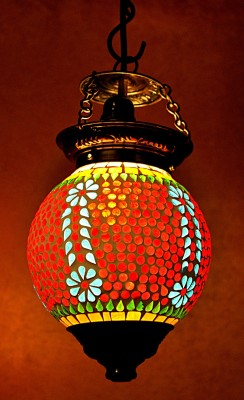 Lal Haveli Pendants Ceiling Lamp at flipkart