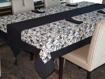 Lushomes Multicolor Organic Cotton Table Linen Set(Pack of 6) at flipkart
