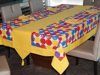 Lushomes Multicolor Organic Cotton Table Linen Set(Pack of 8) at flipkart