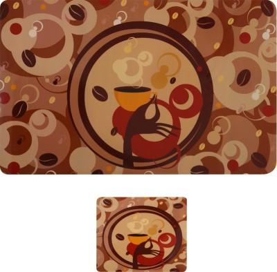 E-Retailer Rectangular Pack of 6 Table Placemat(Multicolor, PVC) at flipkart