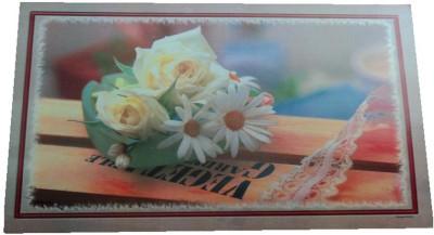 Amita Home Furnishing Rectangular Pack of 6 Table Placemat(Multicolor, Plastic) at flipkart