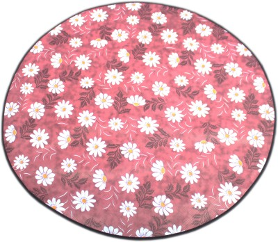 Glassiano Round Pack of 1 Table Placemat(Multicolor, PVC) at flipkart