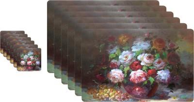 Winner Rectangular Pack of 12 Table Placemat(Multicolor, Plastic) at flipkart