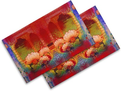 Sej By Nisha Gupta Rectangular Pack of 2 Table Placemat(Multicolor, Cotton) at flipkart