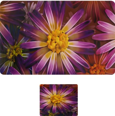 E-Retailer Rectangular Pack of 6 Table Placemat(Purple, PVC) at flipkart