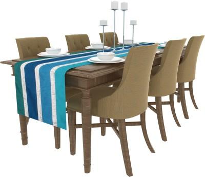 Art Horizons Multicolor 208 cm Table Runner(Silk) at flipkart