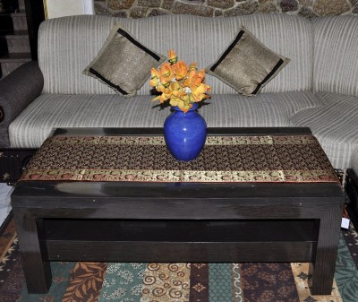 Lal Haveli Red 152.4 cm Table Runner(Silk) at flipkart