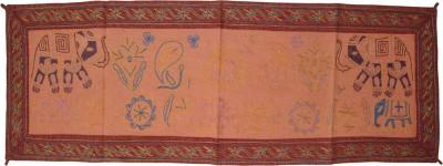 Lal Haveli Multicolor 137 cm Table Runner(Cotton) at flipkart