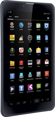 Iball Slide Brillante 8 GB 7 inch with Wi-Fi+3G(Special Silver)
