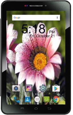 View I Kall N3 In-built Speaker Tablet with Cover 8 GB 7 inch with Wi-Fi+3G(Black) Tablet Note Price Online(I Kall)