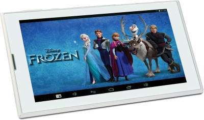 Disney Frozen 8 GB 7 inch with Wi-Fi+3G Tablet(White)