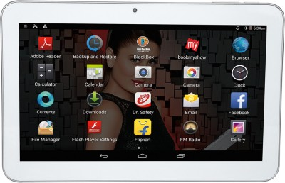 iBall 1026-Q18 1 GB RAM 8 GB ROM 10 inch with Wi-Fi+3G Tablet (White)