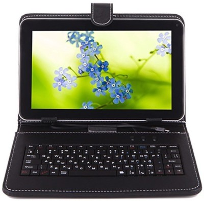 I Kall IK1 (1+4GB) Dual Sim Calling Tablet with Keyboard 4 GB 7 inch with 3G(Black)   Tablet  (I Kall)