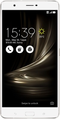 Asus ZenFone 3 Ultra 64 GB 6.8 inch with Wi-Fi+4G(Glacier Silver) at flipkart