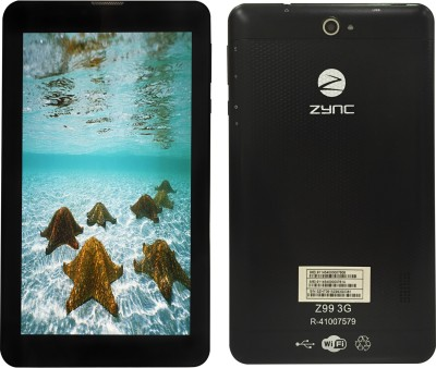 Zync Z99 3G 8 GB 7 inch with Wi-Fi+3G(Black)