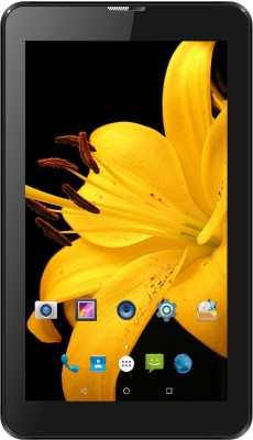 I Kall IK1 (1+4GB) Dual Sim 3G Calling Tablet 4 GB 7 inch with Wi-Fi+3G(Black)