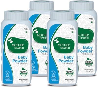 Mother Sparsh Ayurvedic Baby Powder (Pack of 4)(400 g)