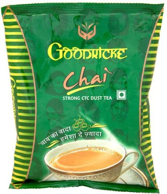 Goodricke Chai Plain, Unflavoured Black Tea(250 g, Pouch)  available at flipkart for Rs.93