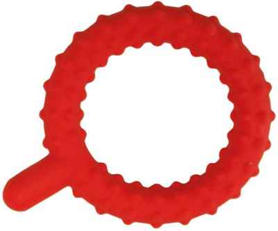 Chewy Tubes Knobby Q Teether(Red)