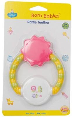 Born Babies Silicon Teether TEETHER(Pink)
