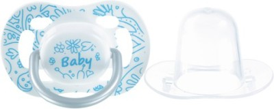 Tollyjoy Orthodontic Pacifier Soother(White, Blue)
