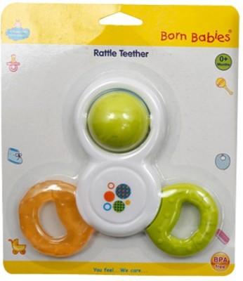 Born Babies silicon TEETHER(Green)