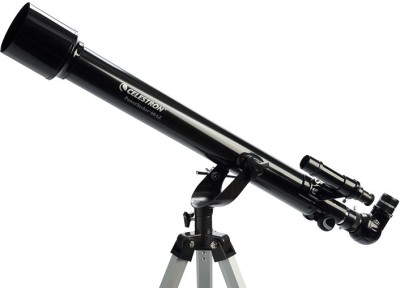 CELESTRON PowerSeeker 60AZ Refracting Telescope(Manual Tracking) at flipkart