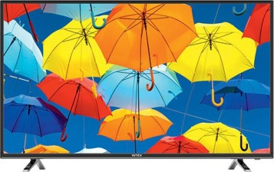 Intex 109cm (43) Full HD LED TV(4310 FHD, 2 x HDMI, 2 x USB)