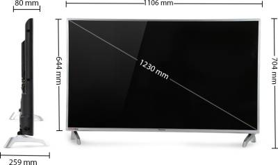 Panasonic 123cm (49) Full HD LED TV (2 X HDMI, 1 X USB)