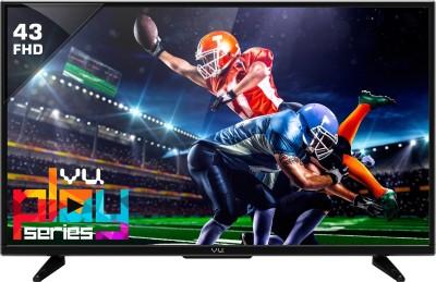 Vu 109cm (43 inch) Full HD LED TV(T43D1510)