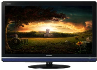 Sharp (32 inch) HD Ready LED TV(LC 32 L465 M) at flipkart