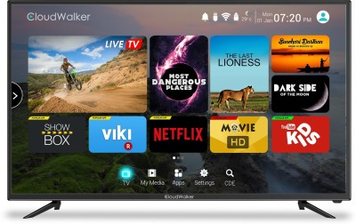 CloudWalker Cloud TV 109cm (43 inch) Ultra HD (4K) LED Smart TV
