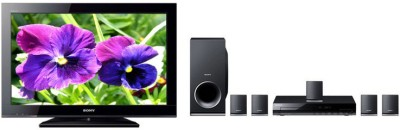 Sony 32CX350 32 inches TV (With Sony DAV-TZ145 5.1 Home Theatre System)(32CX350 (Bundle Offer)) 1