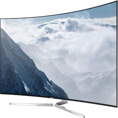 Samsung 123cm (49) Ultra HD (4K) Curved LED Smart TV(49KU6570) at flipkart