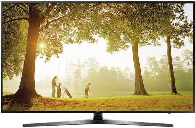 Samsung 6 163cm (65) Ultra HD (4K) Smart LED TV(65KU6470, 3 x HDMI, 2 x USB)   TV  (Samsung)