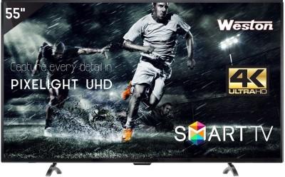 Weston 140cm (55) Ultra HD (4K) LED Smart TV(WEL-5500, 3 x HDMI, 2 x USB)