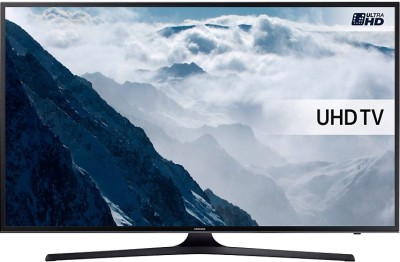 Samsung 108cm (43 inch) Ultra HD (4K) LED Smart TV(43KU6000) at flipkart