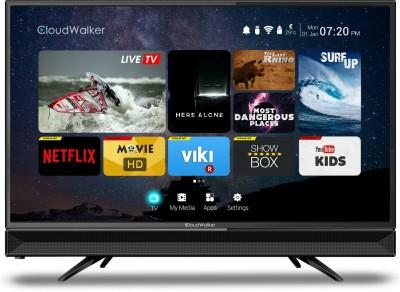 CloudWalker Cloud TV 80cm (31.5) HD Ready Smart LED TV(32SH, 1 x HDMI, 2 x USB)   TV  (CloudWalker)