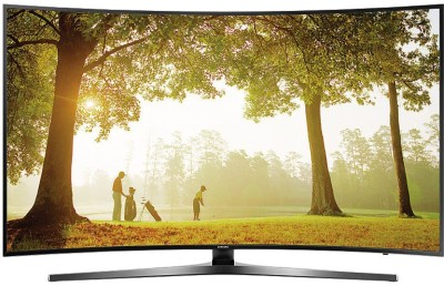 Samsung 6 108cm (43) Ultra HD (4K) Curved LED Smart TV(43KU6570, 3 x HDMI, 2 x USB)