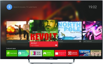 Sony BRAVIA KDL-43W800C 108cm (43) Full HD 3D LED Android TV(KDL-43W800C, 4 x HDMI, 2 x USB)