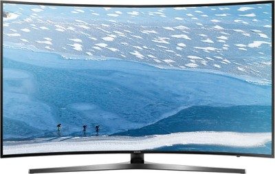 Samsung 138cm (55 inch) Ultra HD (4K) Curved LED Smart TV(55KU6570) at flipkart