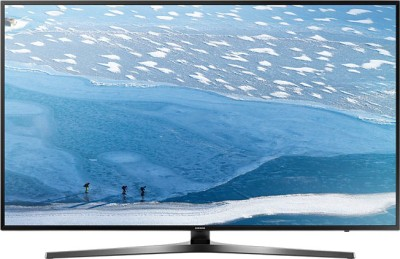 Samsung 108cm (43 inch) Ultra HD (4K) LED Smart TV(43KU6470) at flipkart