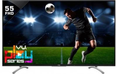 Vu 140cm (55 inch) Full HD LED TV - No Cost EMI ₹40,999₹45,000