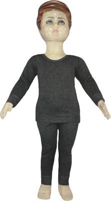 Selfcare Top - Pyjama Set For Boys(Grey)
