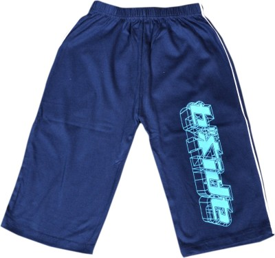 Frang Three Fourth For Boys(Dark Blue Pack of 1)