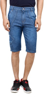 Uber Urban Solid Men's Three Fourths at flipkart