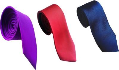 WSD Solid Tie(Pack of 3) Flipkart